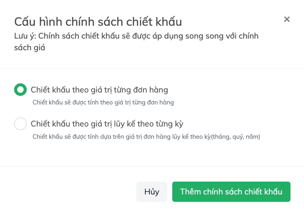lap chinh sach chiet khau
